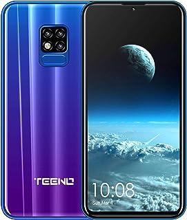 comprar comparacion TEENO Moviles Libres 4G,6.2 Pulgadas 3GB RAM+32GB ROM Una Camara,Dual Micro SIM,SD Card,Android Smartphone Libres (Púrpura)