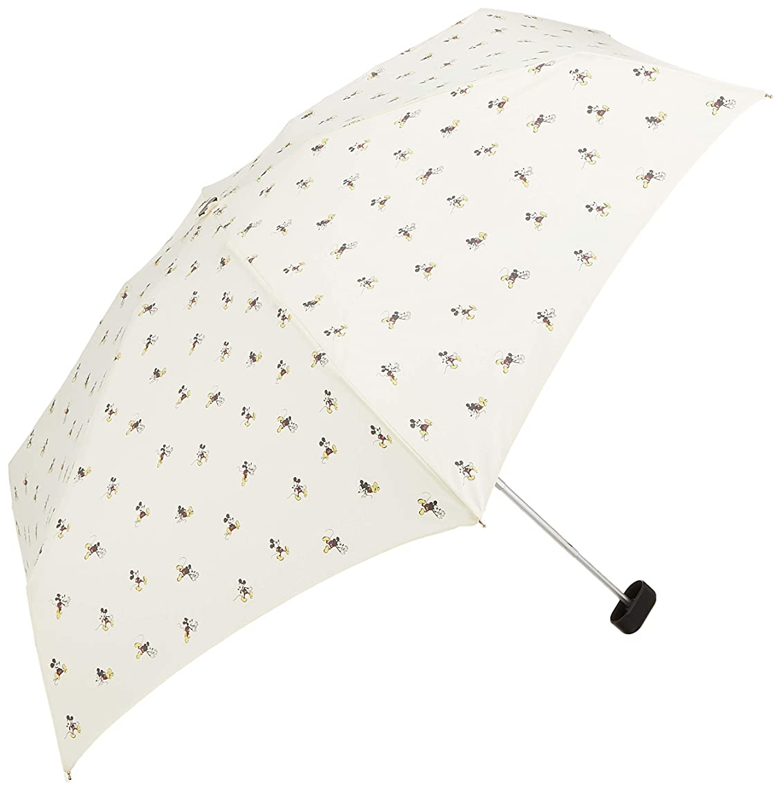 耐える伝染病バラバラにするワールドパーティー(Wpc.) ディズニー雨傘 折りたたみ傘 白 50cm レディース ポーチタイプ ミッキーマウス/リトルミニ DS070-179 OF