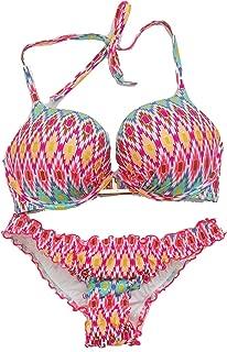 Victoria's Secret Bikini Swimsuit Bundle Set of 2. Bombshell Bikini Top 34D and The Ruffle Cheeky Medium Bikini Bottoms NWT