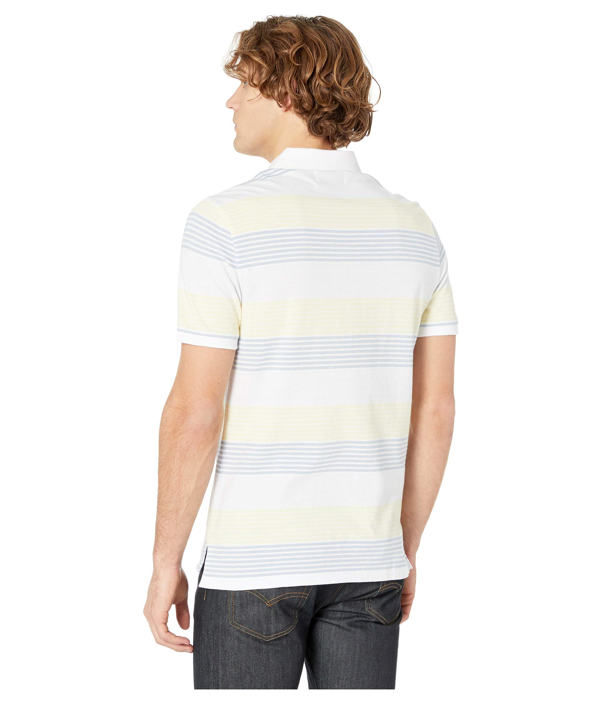 Short Sleeve Original Bright White Polo Engineer Penguin Stripe 8qxT5Bw