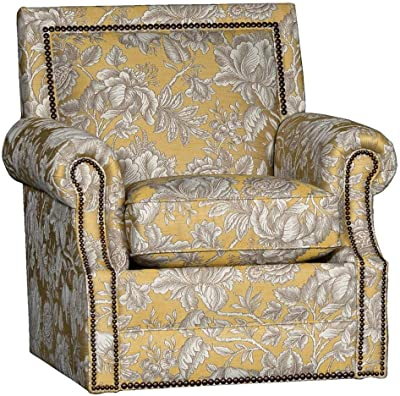Amazon.com: Chelsea Home Swivel Chair in Cantabria Persian ...