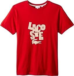Crew Neck Big Print T-Shirt (Little Kids/Big Kids)