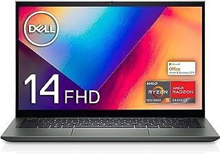 【MS Office Home&Business 2019搭載】Dell モバイル2-in-1ノートパソコン Inspiron 14 7415 ペブルグリーン Win10/14FHD/Ryzen 5 5500U/8GB/256GB SSD/We...