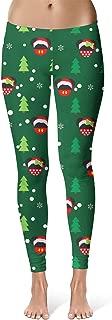 Christmas Santa Mickey & Minnie Disney Inspired Sport Leggings - Full Length, Mid/High Waist