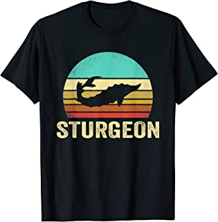 Vintage Sturgeon Shirt Sunset