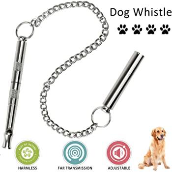 Bark Control Adjustable Frequency Silent Ultrasonic Sound Training Tool HERM SPRENGER Dog Training Whistle To Stop Barking Made In Germany The Original