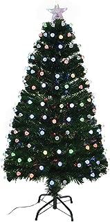 Shatchi 6080-LED-DIAMONDS-TREE-2FT 2ft LED Fibre Optic Christmas Tree Pre-Lit Xmas Decorations Diamonds Home Décor 60cm 0.6m, Green