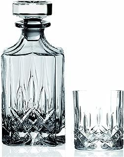 Lorren Home Trends RCR Opera Crystal 7 Piece Whiskey Set