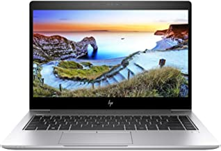 "HP Elitebook 840 G5 14"" FHD (1920x1080) Business Laptop (Intel Quad-Core i5-8250U, 8GB DDR4 RAM, 256GB SSD) USB Type-C, HD..."