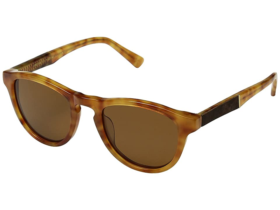 Shwood Francis (Amber/Elm/Brown Polarized) Sport Sunglasses