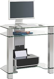 MAJA Möbel Mesa de Ordenador y de Escritorio, Metal y Aluminio, Talla única