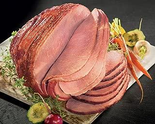 Kansas City Steaks 1 (7.25-8.5 lbs) Hickory Smoked Spiral Sliced Ham, Original Honey Glaze