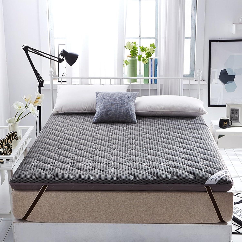 Breathable Thicken Floor Mattress,Memory Foam Floor Tatami mat Double face Sleeping Mattress Padded Bed Tweezers Pad mat Japanese futon-A 90x200cm(35x79inch)