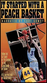 It Started With A Peach Basket (From the Set Shot of Yesterday, To the Slam Dunk of Today...It's the History of Basketball) VHS VIDEO