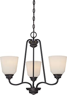 Nuvo Lighting 62/379 LED Chandelier, Bronze/Dark