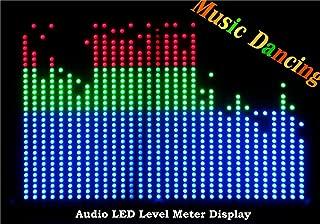 32*32 Audio Indicator LED VU Meter Music Display Spectrum Analyzer For Amp (RGB)