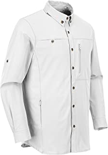 Sponsored Ad - Outdoor Ventures Men's Long Sleeve Fishing Shirt UPF 50 Sun Protection Outdoor Hiking Travel Shirt,Stretch ...