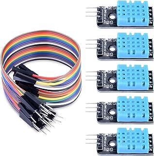 ARCELI 5 STÜCKE Temperatur Luftfeuchtigkeit Sensor Modul Digital DHT11 für Arduino Raspberry Pi 2 3