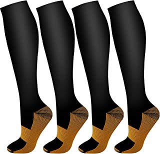 Compression Socks For Men & Women -Best for Running, Athletic, Medical, Pregnancy and Travel