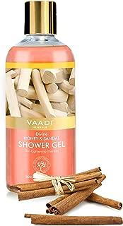 Vaadi Herbals Shower Gel, Divine Honey and Sandal, 300 ml