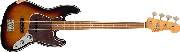 60th Anniversary Roadworn '60s Jazz Bass in 3 Color Sunburst