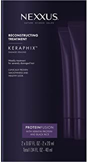 Nexxus Keraphix Gel Treatment, for Damaged Hair 0.67 oz, 2 count