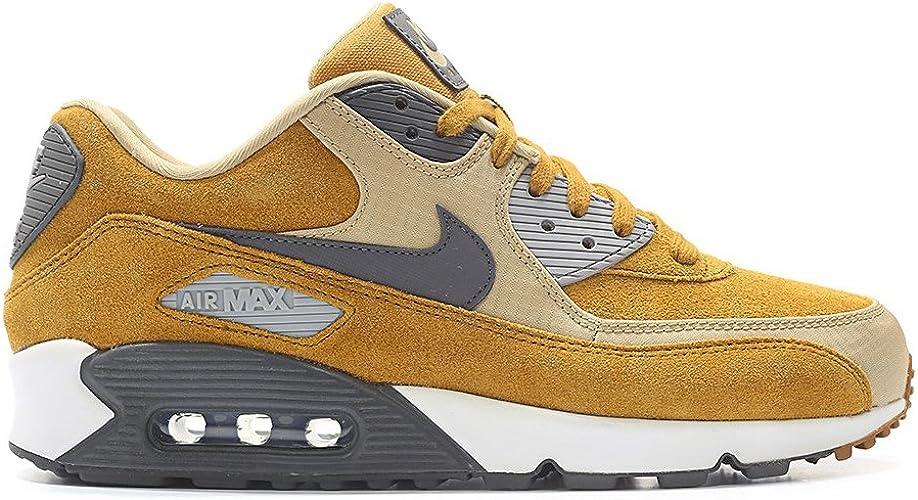 Nike - Air Max 90 Premium Desert Ochre - 700155700 - Couleur ...