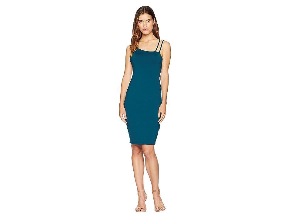 Susana Monaco Strap Detail Dress (Pine Needle) Women