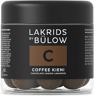 LAKRIDS BY BÜLOW - C - COFFEE KIENI - 125g - Dänische Gourmet Lakritz-Kugeln - Süßer Lakritzkern umhüllt von Milch-Schokolade und Kaffeebohnen - Süßigkeiten Geschenk für Lakritze Liebhaber