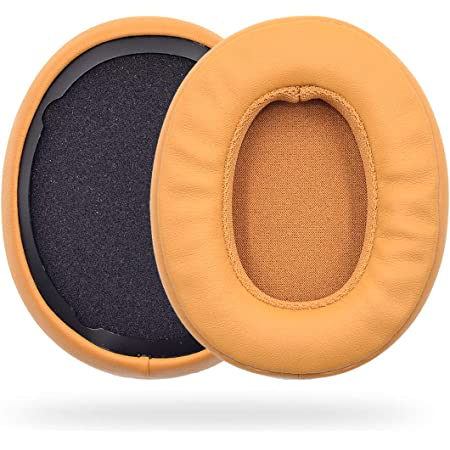 Replacement Ear Pads Cushion Covers for Skullcandy Crusher Wireless Hesh 3 Wireless Headphone (Brown)