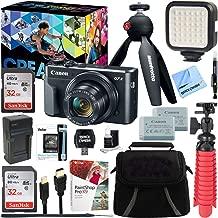 Canon PowerShot G7 X Mark II 20.1MP 4.2x Optical Zoom Digital Camera Video Creator Kit + 64GB SDXC Memory Card + Accessory Bundle