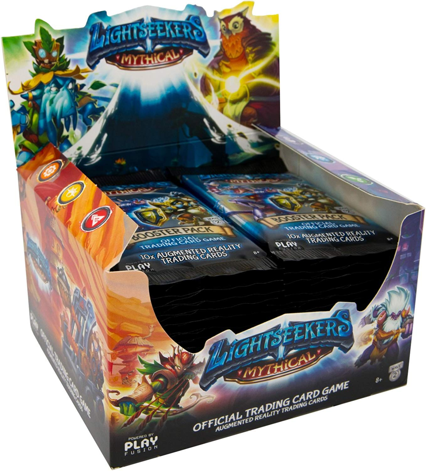 PlayFusion lucieekers TCG Booster Display Wave 2 Mythical (40) inglese Version Trading