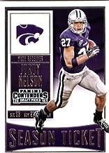 2016 Panini Contenders Draft Picks #53 Jordy Nelson Kansas State Wildcats Football Card