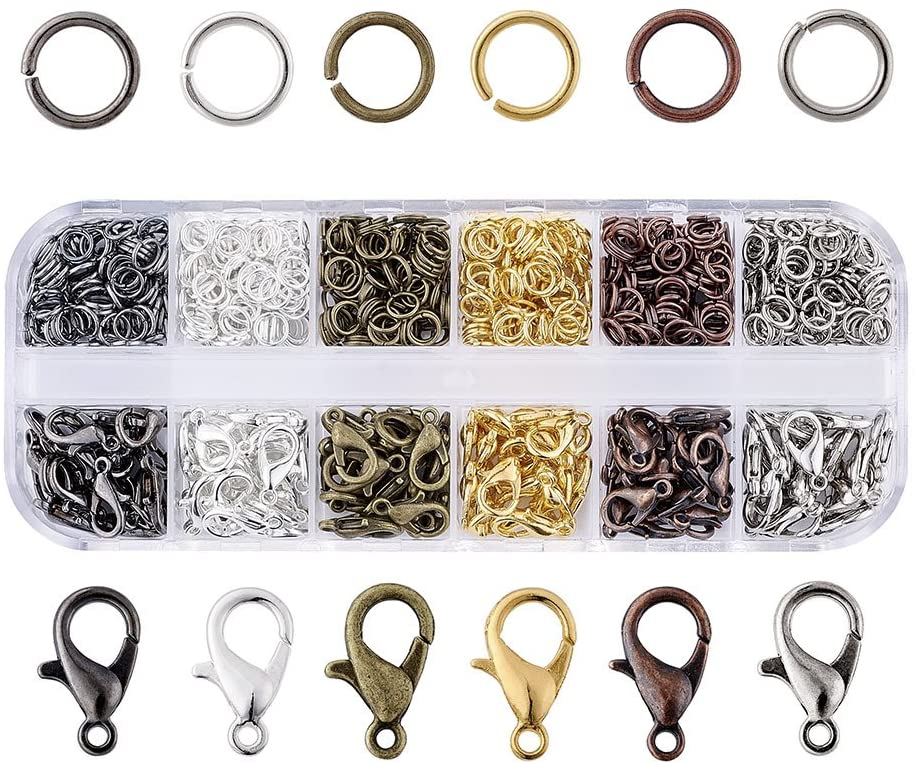 Pandahall 6 Colors Max 76% OFF Jewelry Finding Kits Jump Elegant Rings with Open 5mm