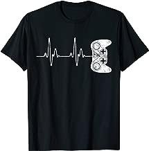 Gamer Heartbeat T-Shirt Video Game Lover Gift Shirt