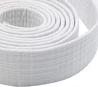 Pomeat Sports Belt, Soft Belt for Martial Arts Karate Taekwondo Judo (8.6ft White)