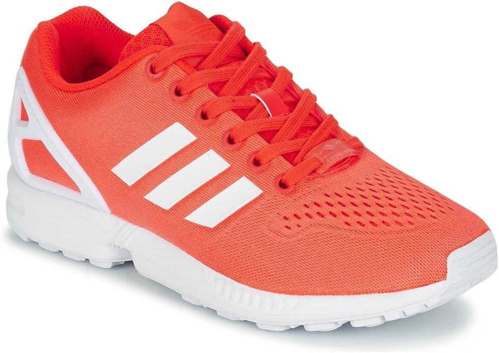 adidas ZX Flux EM S80325 Trainers - Orange/White, Size UK 11.5 ...