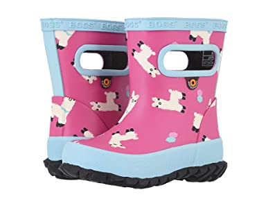 Bogs Kids Skipper Llamas (Toddler/Little Kid) (Pink Multi) Girls Shoes