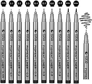 Jansroad rotuladores de punta fina , tinta negro