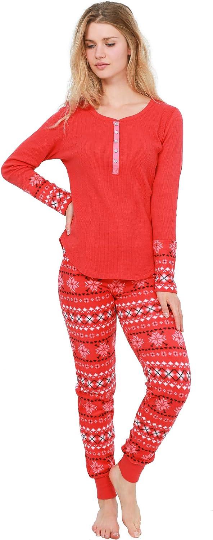 Cozy Curious Max 56% OFF Women's Sleepwear Two-Piece Bargain Pajama Set To