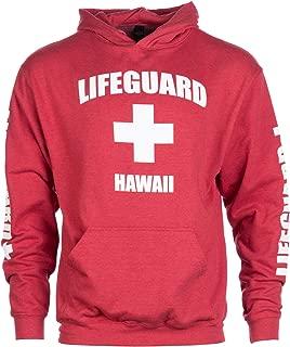 Hawaii Lifeguard | Red Maui Honolulu Hoody Sweatshirt Hoodie Sweater Men Women