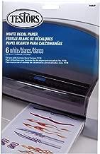 Testors® White Decal Paper Item 9202
