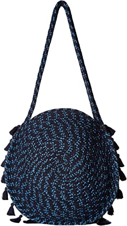 Braided Circle Handbag