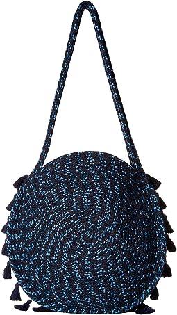 Braided Circle Handbag