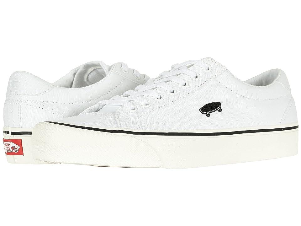 59bf43f1d2f Vans Court Icon ((Canvas) True White Cloud Dancer) Skate Shoes