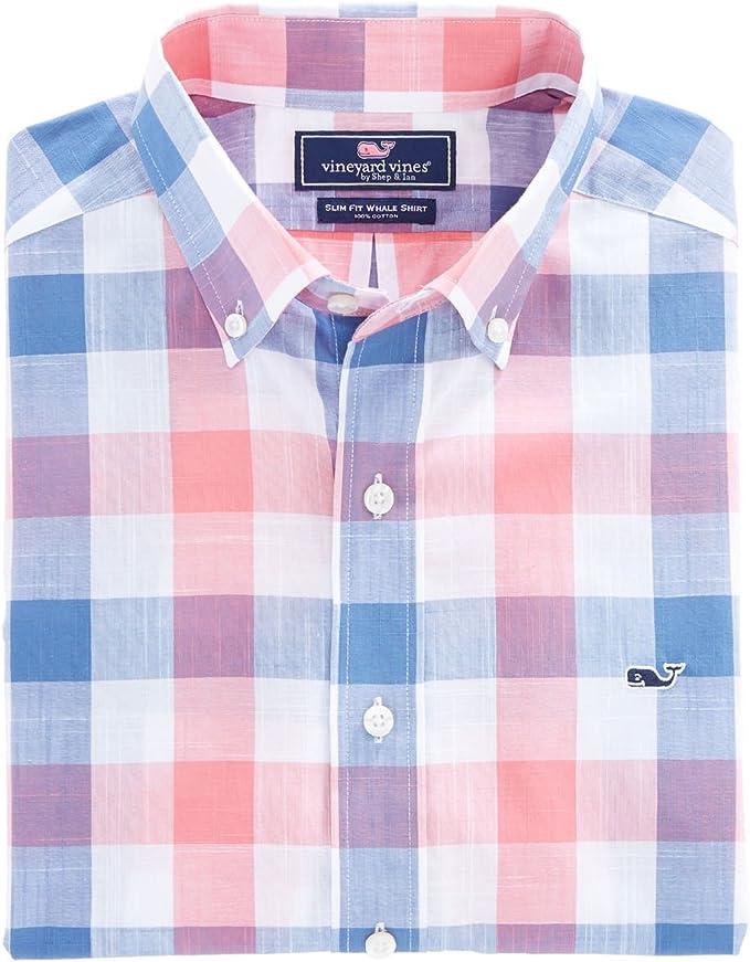 Vineyard Vines - Camisa a cuadros, corte ajustado, de estilo ...