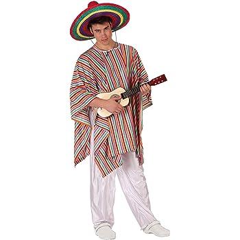 Atosa-19539 Disfraz Mejicano, multicolor, M-L (19539): Amazon.es ...