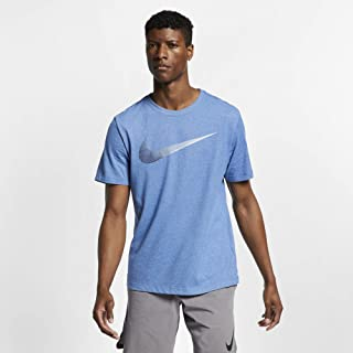 Nike Men's Dry Training Tee Large Swoosh