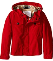 Burberry Kids - Packaway Large Chest Pocket Jacket (Little Kids/Big Kids)