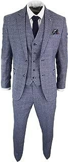 CAVANI Draco Homme Nouveau 3 Pièce Costume Carreaux Tweed
